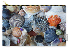 Carry-all Pouch featuring the photograph Kayla's Shells by John Schneider