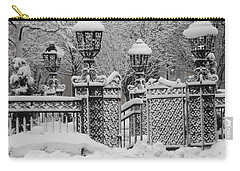 Kc Plaza Is Art In The Snow Carry-all Pouch