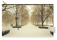 Kc Snow With Parisian Flare Carry-all Pouch