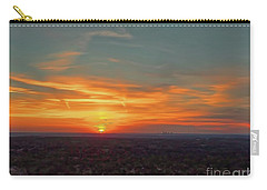 Carry-all Pouch featuring the photograph Kc Sunset by Dave Luebbert