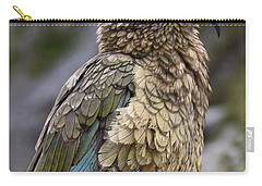 Carry-all Pouch featuring the photograph Kea Bird by Sally Weigand