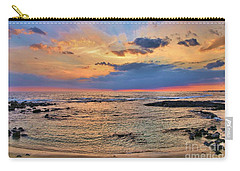 Carry-all Pouch featuring the photograph Keahuolu Point by DJ Florek