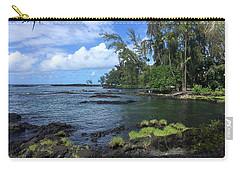 Carry-all Pouch featuring the photograph Keaukaha  by Lehua Pekelo-Stearns