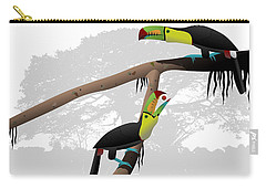 Keel-billed Toucans Carry-all Pouch
