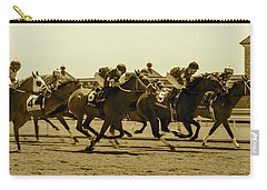 Keenland Sepia Carry-all Pouch by Dan Hefle