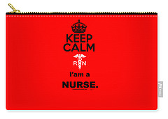 Keep Calm,rn Carry-all Pouch