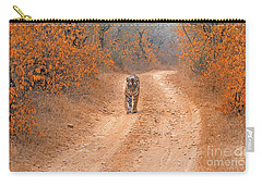 Keep Walking Carry-all Pouch by Pravine Chester