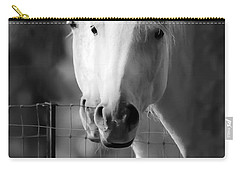Carry-all Pouch featuring the photograph Keeping Their Eyes On Us D3126 by Wes and Dotty Weber