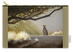 Keeping Watch - Cheetah Carry-all Pouch