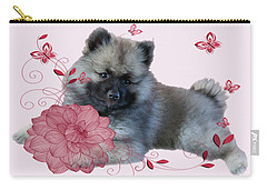 Keeshon's Flower Carry-all Pouch