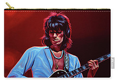 Keith Richards The Riffmaster Carry-all Pouch by Paul Meijering