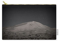Kelso Dunes At Night Carry-all Pouch by Nature Macabre Photography