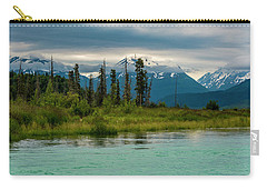 Carry-all Pouch featuring the photograph Kenai by Gary Lengyel