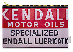 Kendall Motor Oils Sign Carry-all Pouch