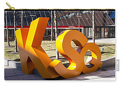 Kendall Square Sign Cambridge Ma Carry-all Pouch