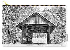 Keniston Covered Bridge  Carry-all Pouch by Betty Pauwels