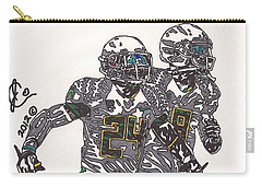 Kenjon Barner And Marcus Mariota Carry-all Pouch
