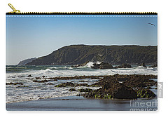 Carry-all Pouch featuring the photograph Kennack Sands by Brian Roscorla