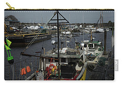 Kennebunkport Harbor In Early Winter Carry-all Pouch