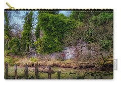 Carry-all Pouch featuring the photograph Kennetpans Distillery Ruins by Jeremy Lavender Photography
