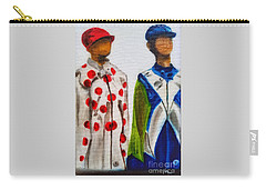 Kentucky Derby Jockey Mannequins Carry-all Pouch