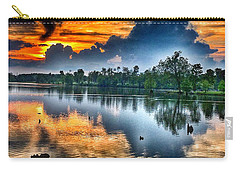 Carry-all Pouch featuring the photograph Kentucky Sunset June 2016 by Sumoflam Photography