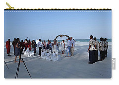 Kenya Wedding On Beach 2 With Maasai Carry-all Pouch
