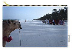 Kenya Wedding On Beach Distance Carry-all Pouch