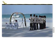 Kenya Wedding On Beach Singers Carry-all Pouch