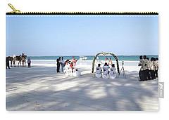 Kenya Wedding On Beach Wide Scene Carry-all Pouch
