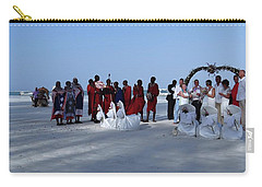 Kenya Wedding On Beach With Maasai Carry-all Pouch