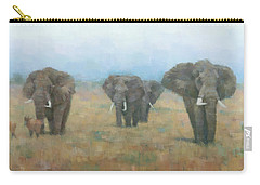 Kenyan Elephants Carry-all Pouch