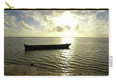 Kenyan Wooden Dhow At Sunrise Carry-all Pouch by Exploramum Exploramum