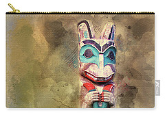 Ketchikan Alaska Totem Pole Carry-all Pouch