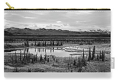 Kettle Pond And The Alaska Range Carry-all Pouch