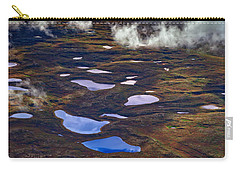 Kettle Ponds On The Tundra Carry-all Pouch