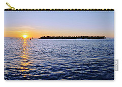Carry-all Pouch featuring the photograph Key Glow by Chad Dutson