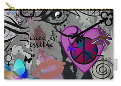 Key To Energy Of Peace  Carry-all Pouch by Bobbee Rickard