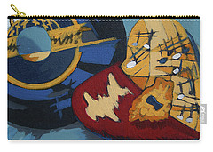 Carry-all Pouch featuring the painting Key To The Heart by Erin Fickert-Rowland