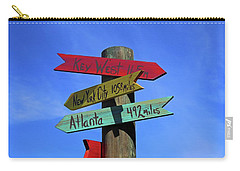 Key West 165 Miles Carry-all Pouch