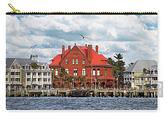 Carry-all Pouch featuring the photograph Key West Custom House by Bob Slitzan