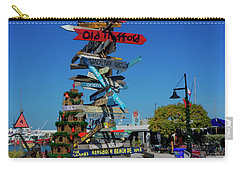 Key West Destination Sign Carry-all Pouch