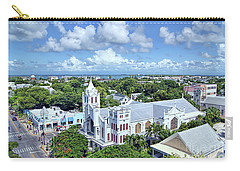 Carry-all Pouch featuring the photograph Key West by Olga Hamilton