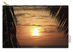Key West Palm Sunset 2 Carry-all Pouch