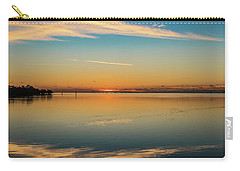Carry-all Pouch featuring the photograph Key West Sunrise 46 by Bob Slitzan