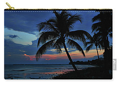 Key West Sunset No 1 Carry-all Pouch