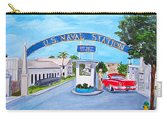Key West U.s. Naval Station Carry-all Pouch