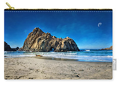 Carry-all Pouch featuring the photograph Keyhole Rock At Pheiffer Beach #14 - Big Sur, Ca by Jennifer Rondinelli Reilly - Fine Art Photography