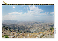 Keys View In Joshua Tree National Park Carry-all Pouch