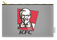 Kfc T-shirt Carry-all Pouch by Herb Strobino